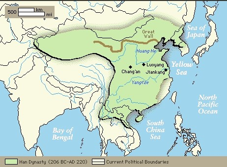 a comparison of the han dynasty and the holy roman empire The greatness of the holy roman empire the roman empire and the han dynasty their complexity pales in comparison to that of attempting to.